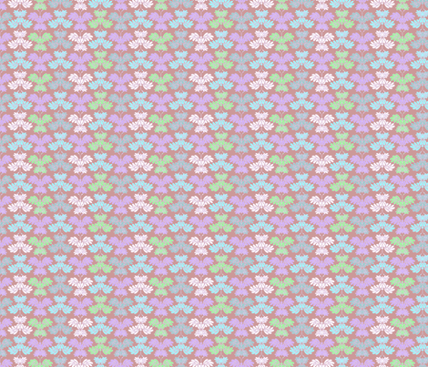 © 2011 Butterfly Mauve  fabric by glimmericks on Spoonflower - custom fabric