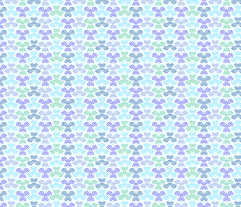 © 2011 Butterflum Blues fabric by glimmericks on Spoonflower - custom fabric