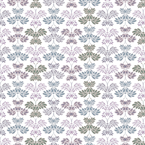 © 2011 Butterfly - Ice Wash sv fabric by glimmericks on Spoonflower - custom fabric