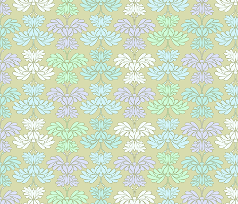 © 2011 Butterfly Spring Mist fabric by glimmericks on Spoonflower - custom fabric