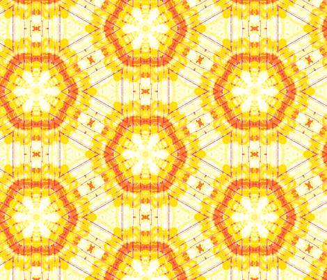 yellow sun fabric by heikou on Spoonflower - custom fabric