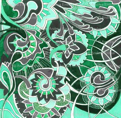 minty garden