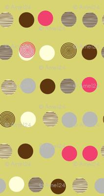 linear texture circles