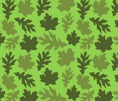 greenleaves fabric by slkanitz on Spoonflower - custom fabric