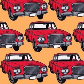 Whole Lotta red 1963 Studebaker Larks