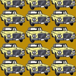 Yellow 1962 Studebaker Lark