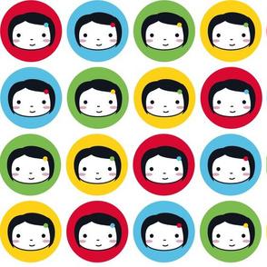 Polka Dot Girls - Multicolour