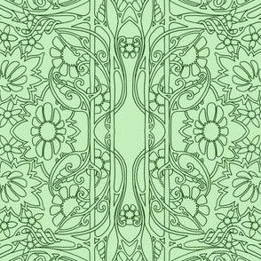 Art Nouveau Garden #639647
