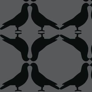 Pigeon Circles-Gray