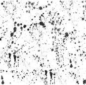Black Ink Splatter