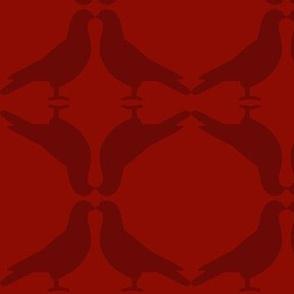 Pigeon Circles-2Reds