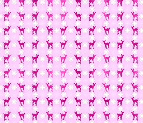 bambi fabric by astrantia2002 on Spoonflower - custom fabric