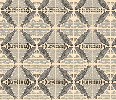 Wilbor's Fishes fabric by relative_of_otis on Spoonflower - custom fabric