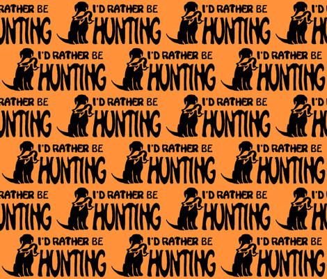 HUNTING_labs_two fabric by dogdaze_ on Spoonflower - custom fabric