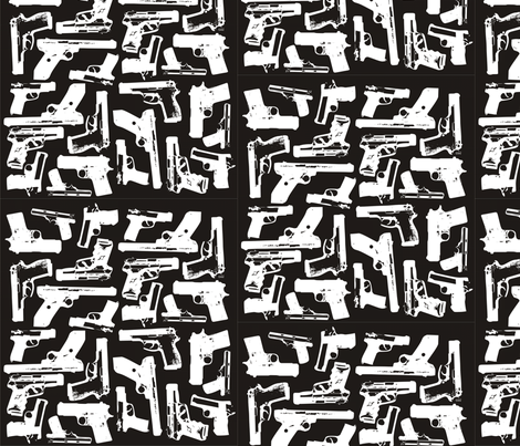 Holdin - Black fabric by saramw on Spoonflower - custom fabric
