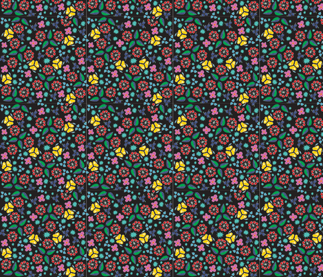 FlowerFruitDesign3 fabric by kathreenricketson on Spoonflower - custom fabric