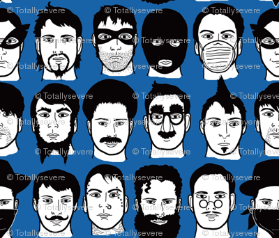 Beards, Bandits, Bigotes