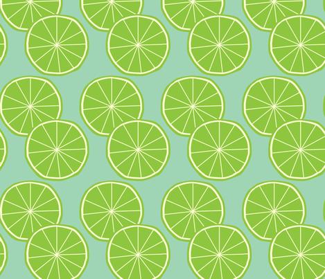 Limes fabric by slkanitz on Spoonflower - custom fabric