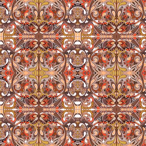 Vertibrate Evolution fabric by edsel2084 on Spoonflower - custom fabric