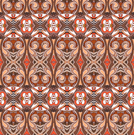 Eggs Embracing Their Inner Zebra fabric by edsel2084 on Spoonflower - custom fabric