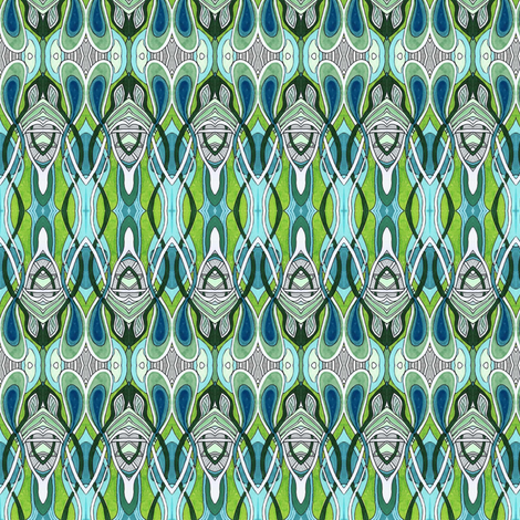 Flies in the Speakeasy fabric by edsel2084 on Spoonflower - custom fabric