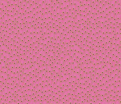 pink feathers fabric by evita on Spoonflower - custom fabric