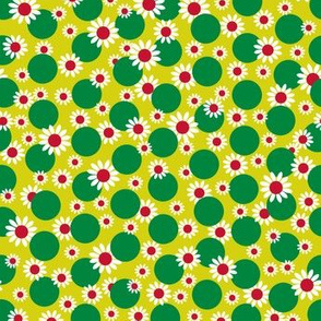 Green Dots and Daisies