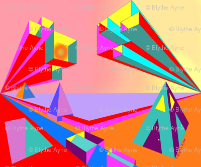 Pyramid One - Blythe Ayne