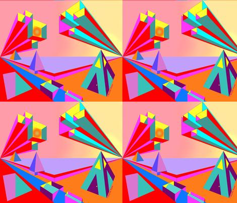 Pyramid One - Blythe Ayne fabric by blythe*ayne's*fabric*designs on Spoonflower - custom fabric