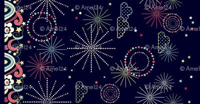 sparkly sparklers