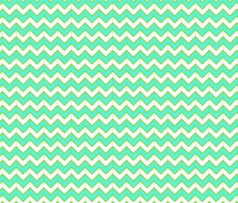 waves fabric by fleamarkettrixie on Spoonflower - custom fabric