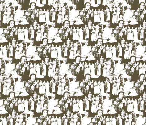 FamilyForeverCollection fabric by tammikins on Spoonflower - custom fabric
