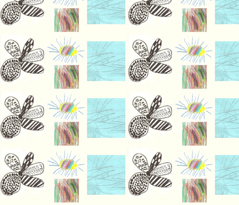 Ages 1, 6, 8 fabric by annalisa222 on Spoonflower - custom fabric