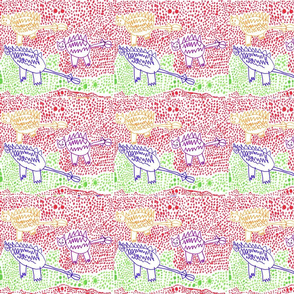 Saichania Dinosaurs by Ebi-kun aged 5