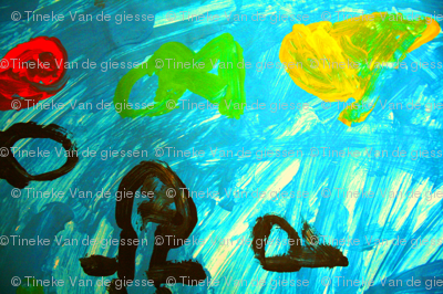 sea (by Renske 5 years old)