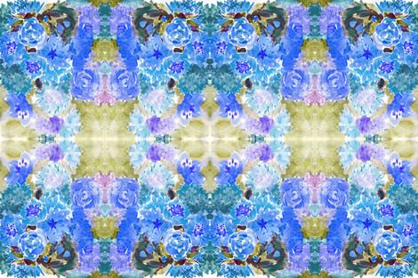 C'EST LA VIV™ TANGO Tourquois  fabric by cest_la_viv on Spoonflower - custom fabric