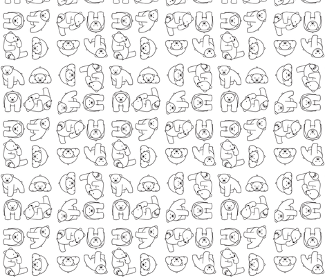 Go with the Floe - Polar Bears fabric by jmckinniss on Spoonflower - custom fabric