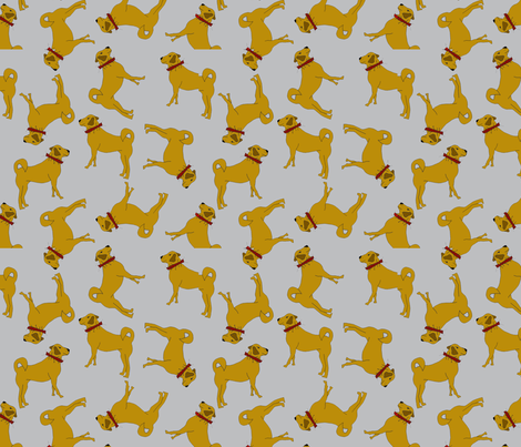 kangaltopsy fabric by corinnevail on Spoonflower - custom fabric