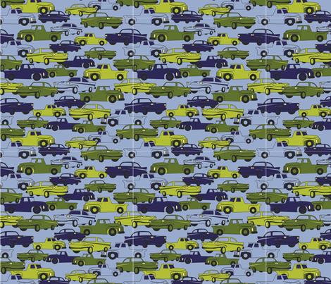 LaraGeorgine_Traffic fabric by larageorgine on Spoonflower - custom fabric
