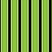 Green/Black Stripes
