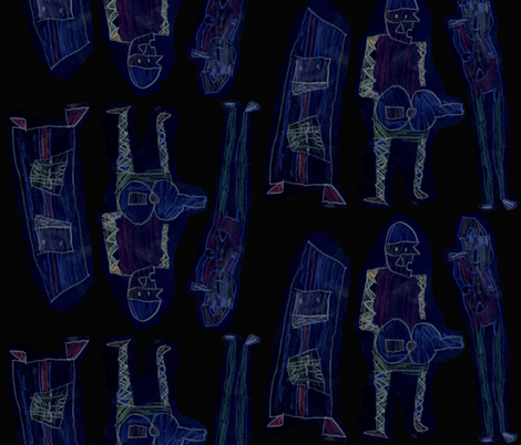 jessemusicians fabric by jesse's_twin on Spoonflower - custom fabric