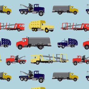 LaraGeorgine_Busy_Trucks