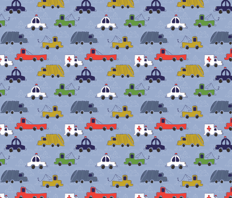 LaraGeorgine_His_Favorite_Things fabric by larageorgine on Spoonflower - custom fabric