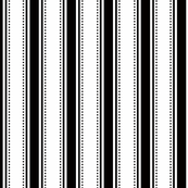 White/Black Stripes