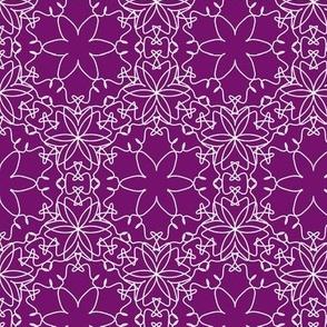 Delicate Lace - Royal Purple