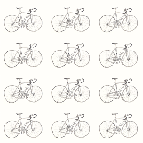 Fixie fabric by iliketosew on Spoonflower - custom fabric