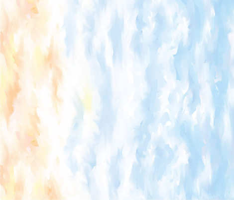 Morning Sky fabric by whisper_color on Spoonflower - custom fabric
