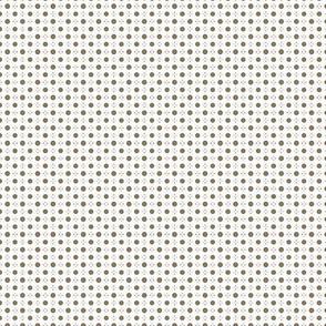 Tiny Rococo dots - Small