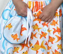 Swim Fishy Swim (Skirt, Fishbowl Bag, Headband and more)