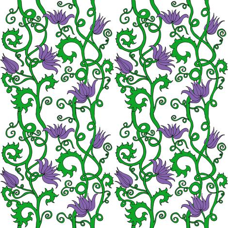 Flowering Vines fabric by ctbideas on Spoonflower - custom fabric